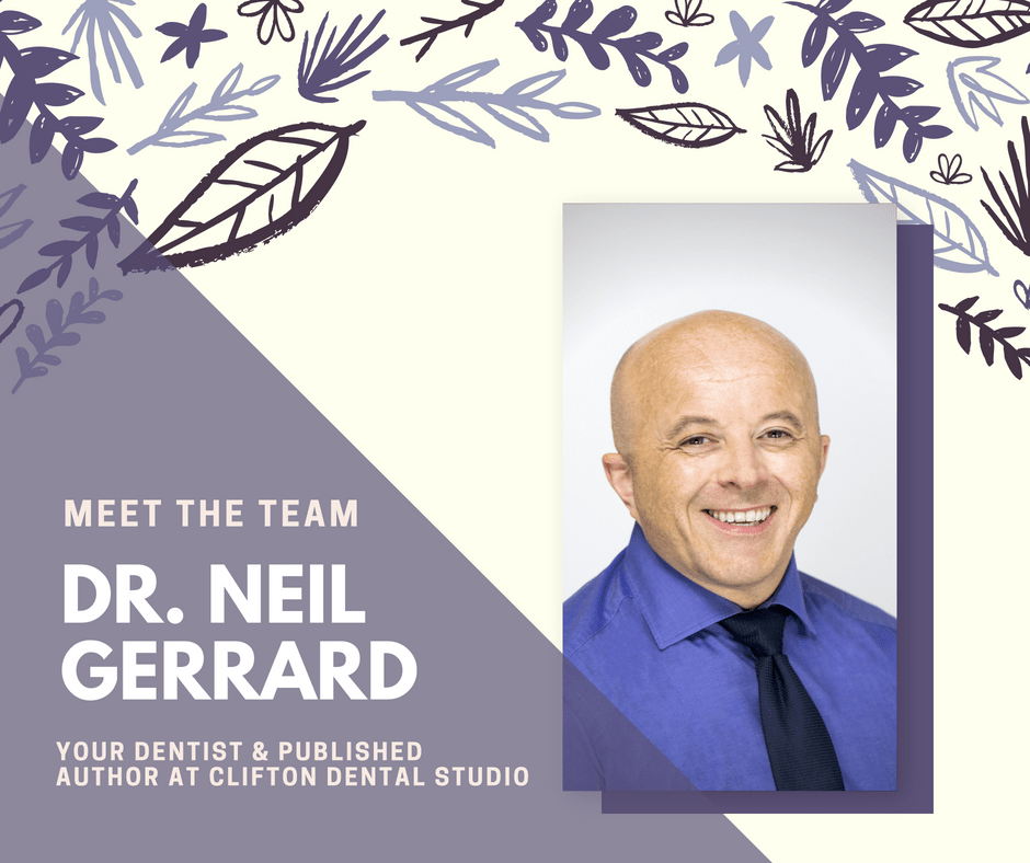 Dr. Neil Gerrard Dentist & published Author
