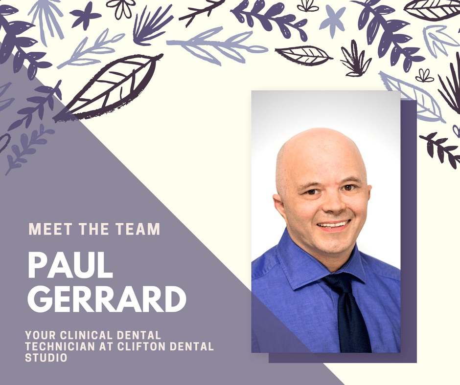 Paul Gerrard Clinical Dental Technician