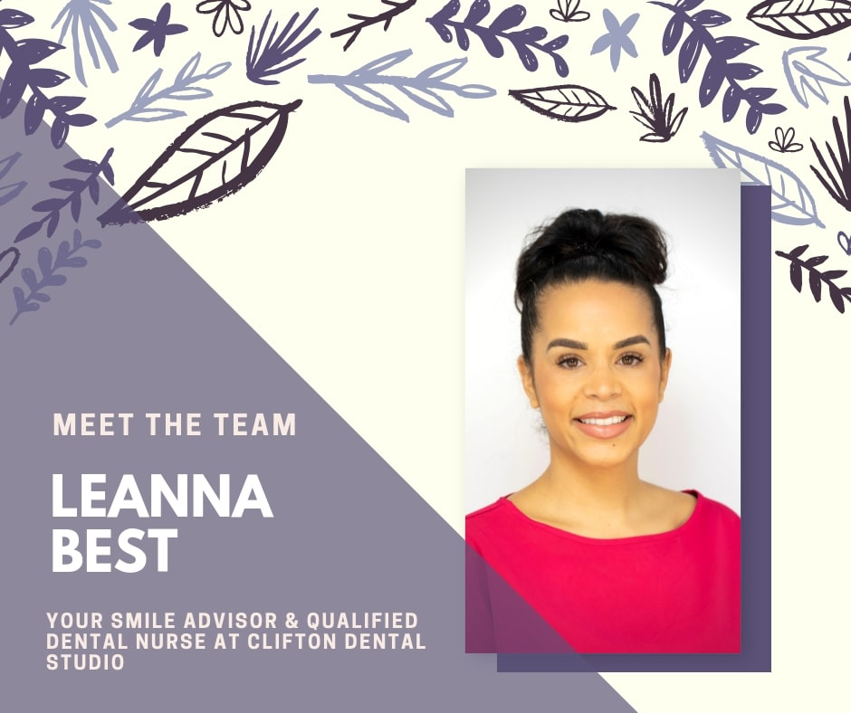 Leanna Best Team Leader, Smile Advisor & Qualified Dental Nurse
