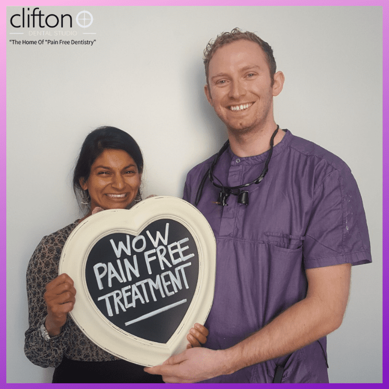 Pain Free at Clifton Dental